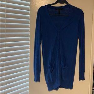 Royal blue bcbg sweater